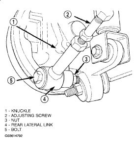 2004 Dodge Stratus Help-REAR Driver Side Suspension: Hello