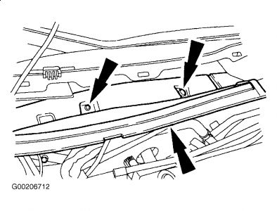2002 Ford Taurus Cabin Air Filter: My Manual Says the
