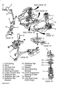 1998 Ford Taurus Shocks: Suspension Problem 1998 Ford