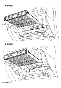 2007 Honda Accord Cabin Air Filter: Air Conditioning