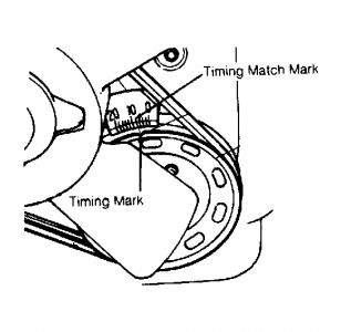 1993 Geo Metro TIMING: Engine Mechanical Problem 1993 Geo
