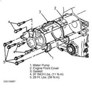 1994 Buick Lesabre WATER PUMP: REPLACING a WATER PUMP HOW DO I GET