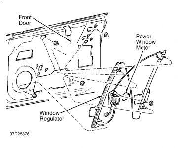 1999 Dodge Neon Window Crank Broke: 1999 Dodge Neon 4 Cyl