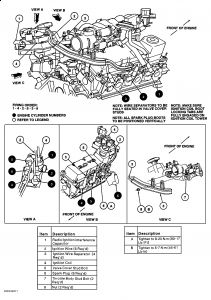 1997 Ford Taurus Spark Plug Firing Order: I Would Like to