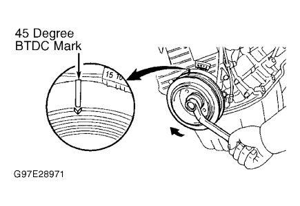Timing Belt Broke: Four Cylinder Front Wheel Drive Manual