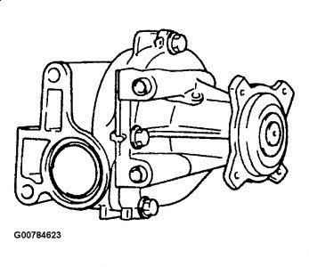 Service manual [Removing A Water Pump 2007 Suzuki Aerio
