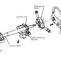 Steering Wheel Diagram 97 S10 Wiring 1995 Ford Escort Slack When Sitting In The Drivers 2 Replies