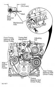 1992 Honda Accord Replacing Timing Belt: When I Took the