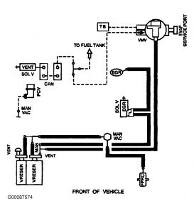 1998 Ford f150 vacuum hose diagram