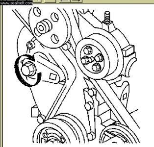 1998 Chevy Malibu Putting on S Belt: Other Category