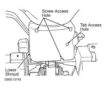 1996 Dodge Neon Key Tumbler: Electrical Problem 1996 Dodge