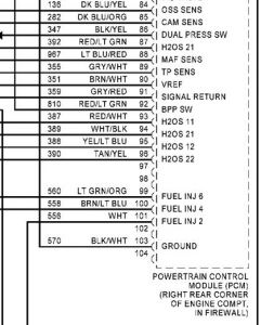 2001 Ford Taurus PCM: Where Can I Find a Pinout (wiring