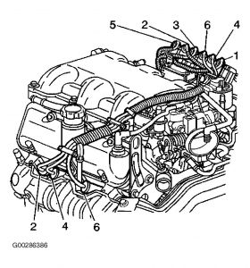 2000 Chevy Malibu Vacuum Diagram: Engine Problem 2000