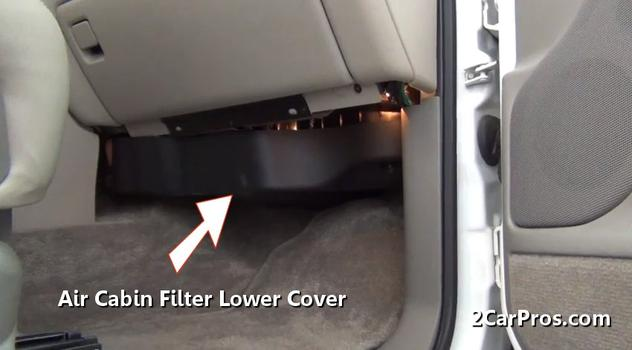2007 Chevy Equinox Interior Fuse Diagram How To Change A Cabin Air Filter In Under 15 Minutes