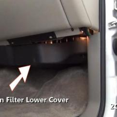 2005 Ford Taurus Wiring Diagram 2006 F150 Window How To Change A Cabin Air Filter In Under 15 Minutes