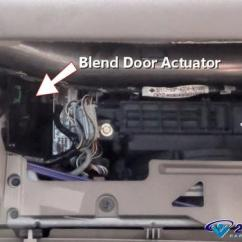 98 Dodge Dakota Wiring Diagram Mercedes W124 E220 How To Replace A Blend Door Actuator In Under 15 Minutes