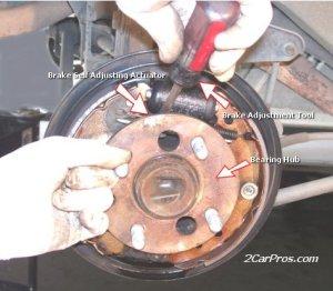 brake drum hard to get on  Ford F150 Forum