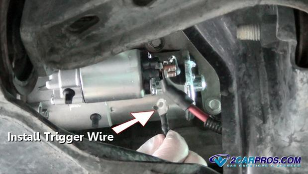 1988 Land Rover Wiring Diagrams Car Repair World How To Replace A Starter Motor