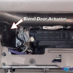2004 Bmw X5 Ac Wiring Diagram 2008 Kawasaki Mule 3010 How To Replace A Blend Door Actuator In Under 15 Minutes