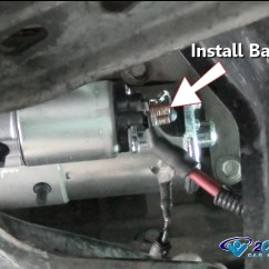 8n Ford Wiring Diagram 2017 Chevy Sonic Radio Car Repair World: How To Replace A Starter Motor