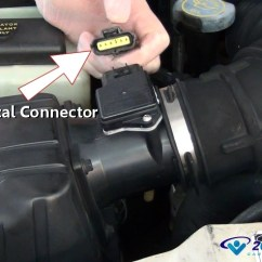 Automotive Wiring Diagram Trailer Plug 7 Pin Flat How Mass Air Flow Sensors Work Explained In Under 5 Minutes