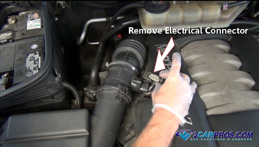 Remove The Screws And Unplug The Electrical Connector Then Gently