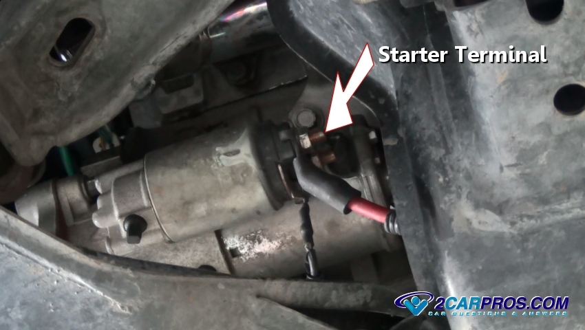 2004 ford ranger wiring diagram dodge neon speaker how to change a starter motor in under 45 minutes