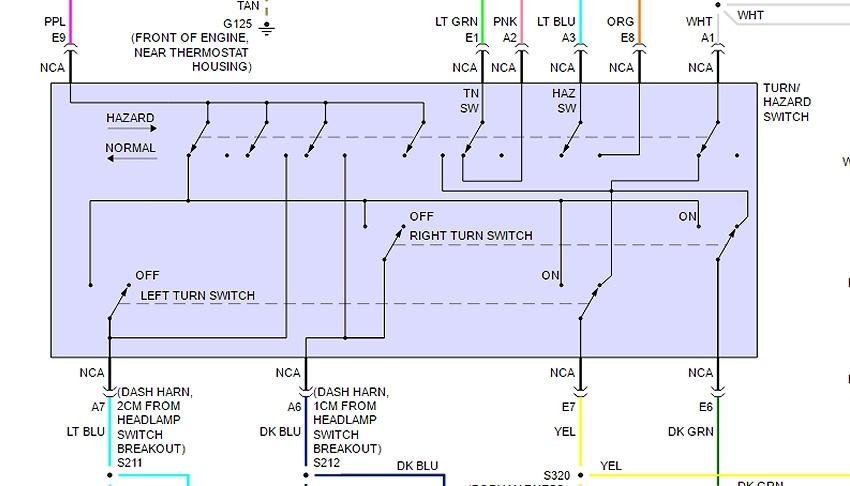 turn signal switch wiring diagram?resize=665%2C380&ssl=1 hyundai i30 headlight wiring diagram wiring diagram 2001 Hyundai Accent Radio Wiring at gsmx.co
