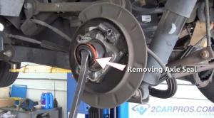 How to Replace a Rear Axle Bearing and Seal in Under 90 Minutes