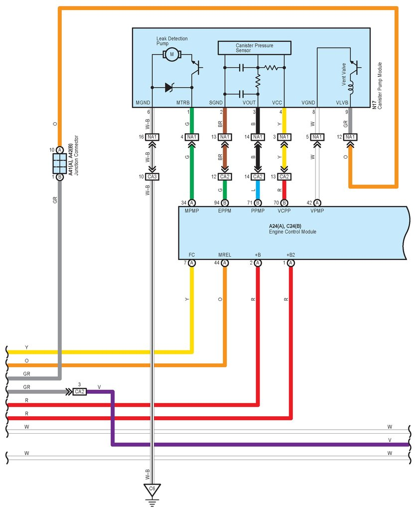 Main Relay Wiring Diagram