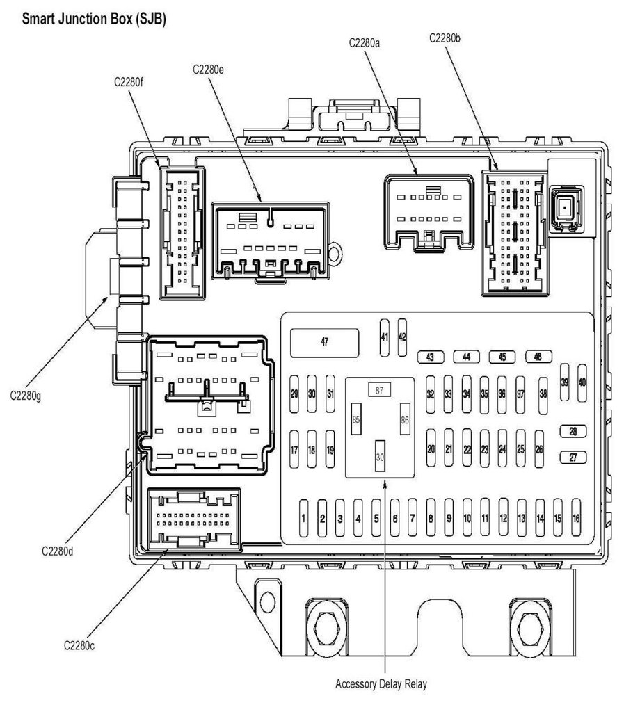ford focus fuse diagram 2008
