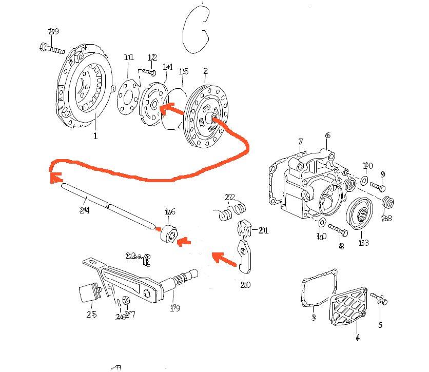 1986 Volkswagen GTI CLUTCH WONT RESIST: Transmission