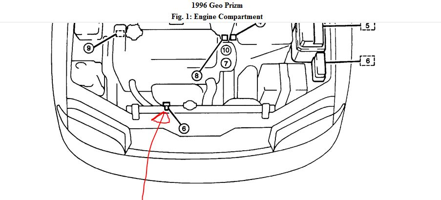 1996 Geo Prizm Engine Diagram ~ Wiring Diagram Information