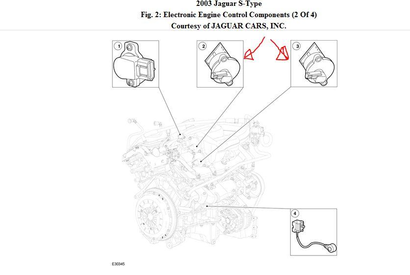 Wire Diagram For Intake Manifold Conectors 2003 Jaguar S