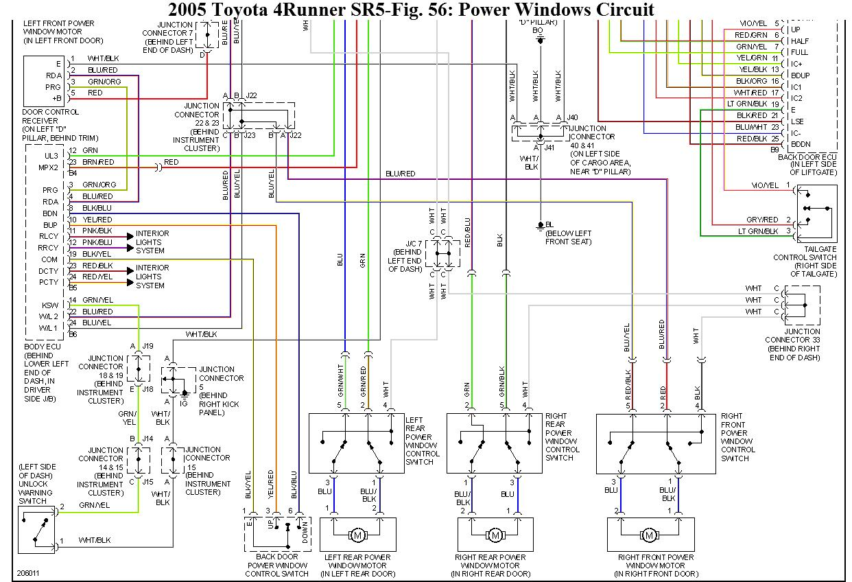 hight resolution of fuse box label door for toyota 4runner 2005 43 wiring diagram images wiring diagrams 2006 4runner