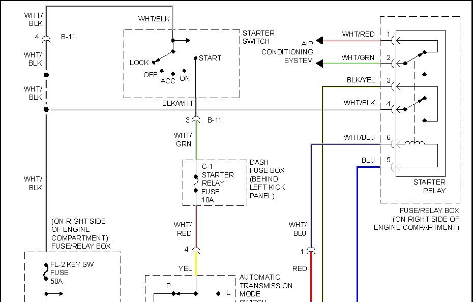 1999 isuzu rodeo radio wiring diagram timing for t flip flop starter schematic great installation of 1998 trooper relay solenoid all rh 2carpros com
