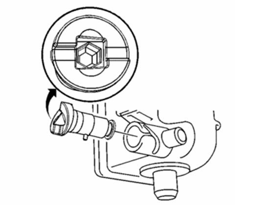 Location of Radiator Drain
