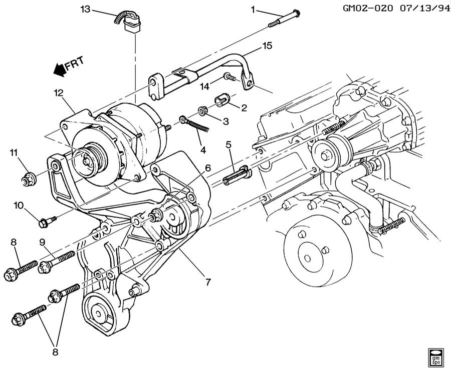 Service manual [Remove 1996 Buick Park Avenue Water Pump