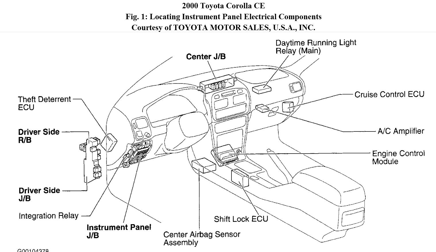 toyota corolla wiring diagram further electrical wiring diagram