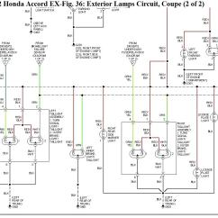 Honda Accord Stereo Wiring Diagram 2004 Pontiac Grand Am Ok So I Have An Issue With The Running Tail Lights