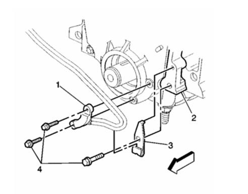 1998 Buick Skylark Crankshaft Position Sensor: Where Is