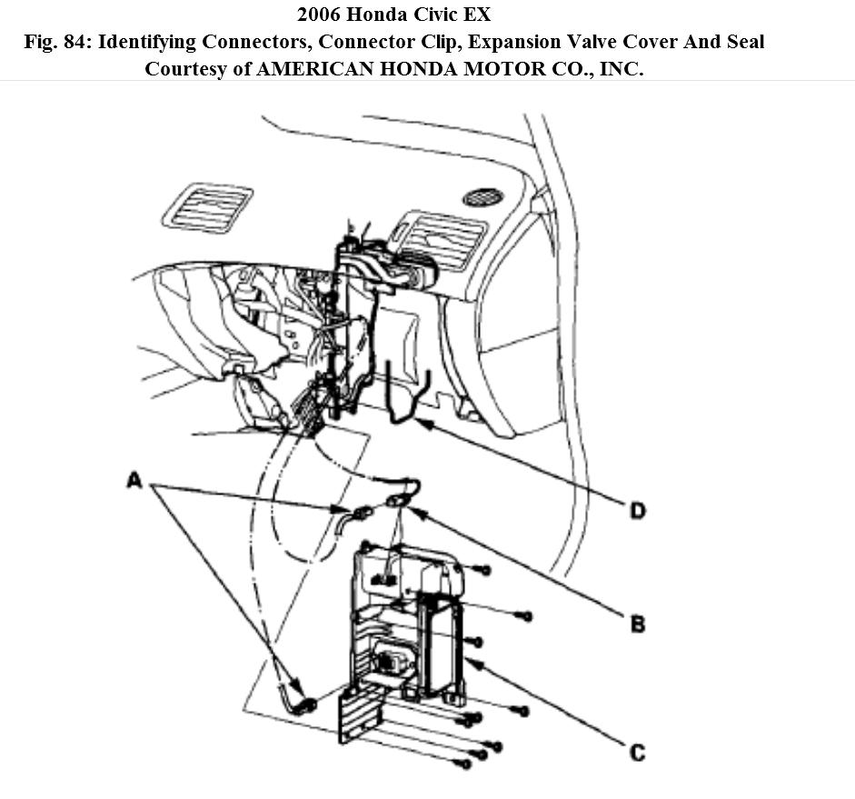 2000 Honda Civic Air Conditioner Diagram Html