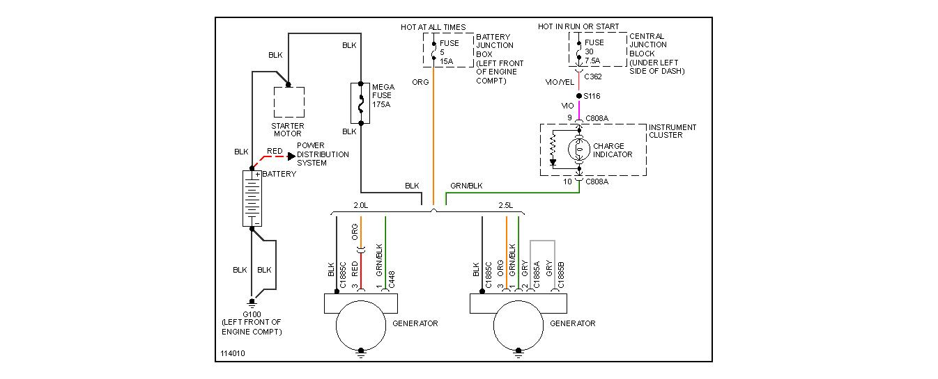 1999 Ford Contour O2 Sensor Wiring Diagram 2006 Ford