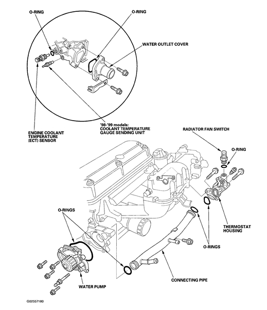 2001 Honda Accord Engine Diagram : 32 Wiring Diagram