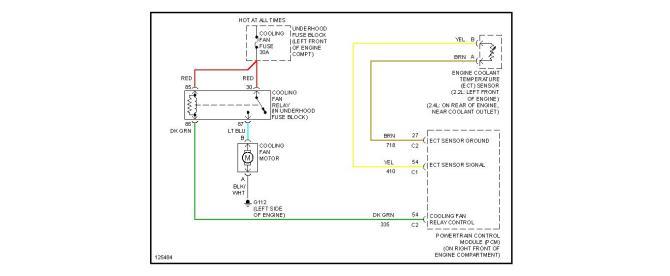1996 chevy cavalier radiator fan diagram  download wiring