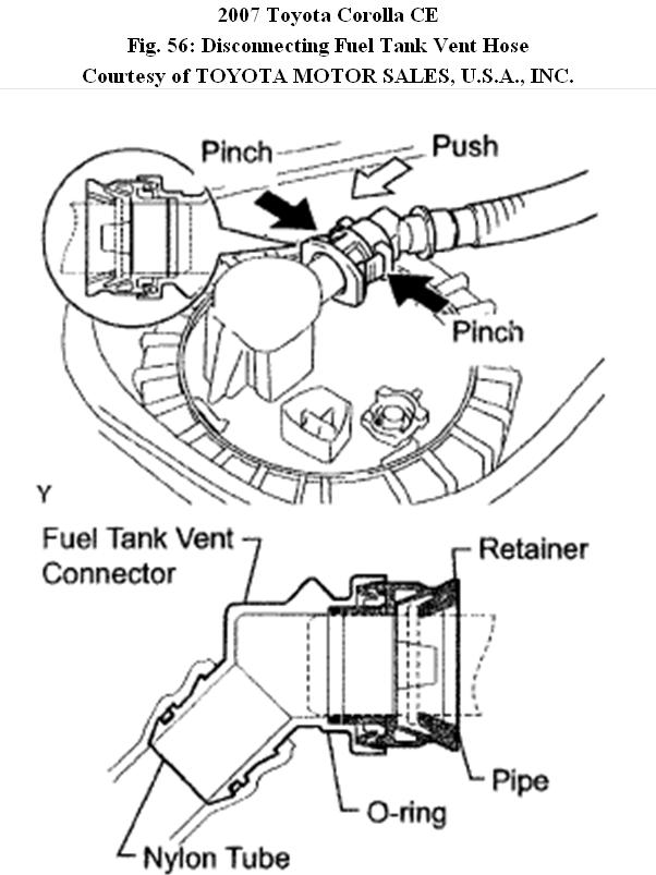2004 Scion Xa Fuel Filter Location