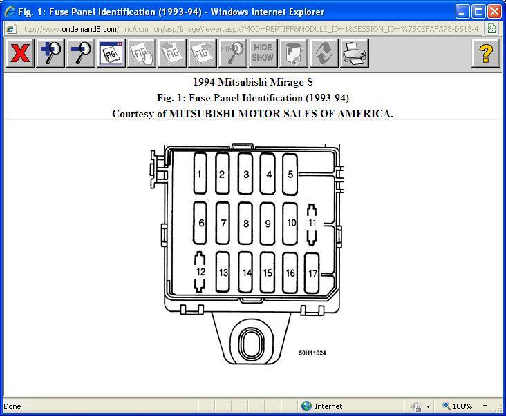 2000 mitsubishi eclipse gs fuse box diagram free download wiring
