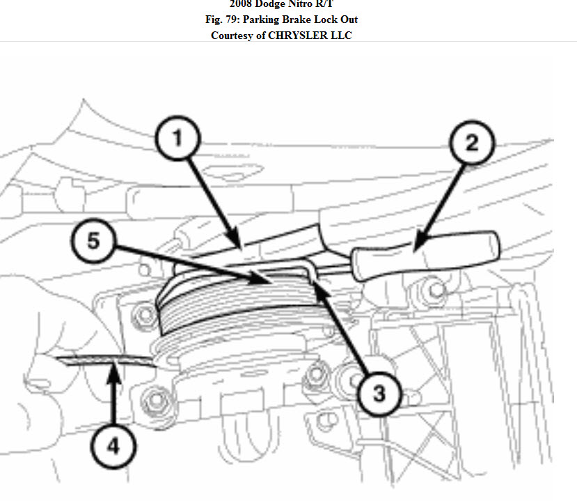 Service manual [How To Adjust Handbrake On A 2011 Dodge