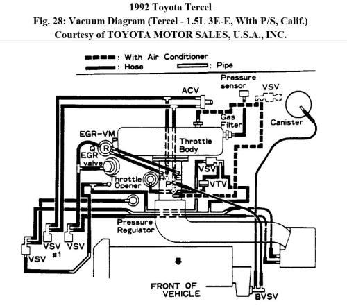 small resolution of manifold intake diagram for tercel 1992 e3 thumb