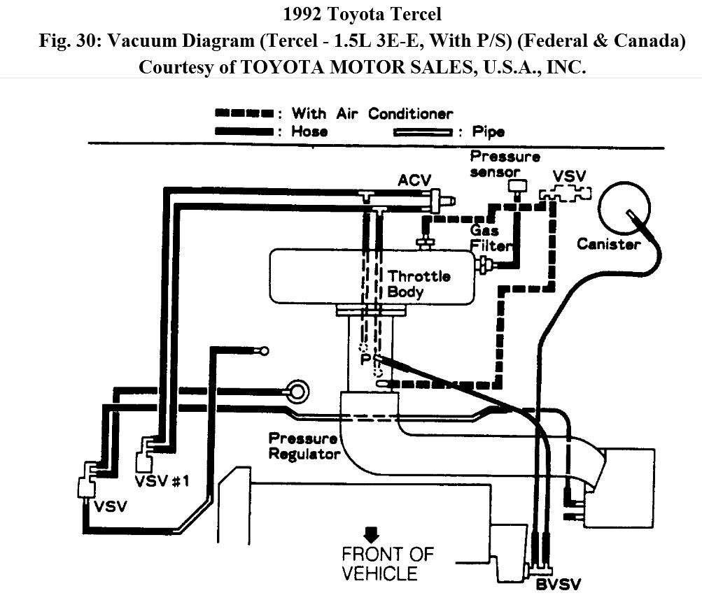 hight resolution of manifold intake diagram for tercel 1992 e392 tercel engine diagram 20